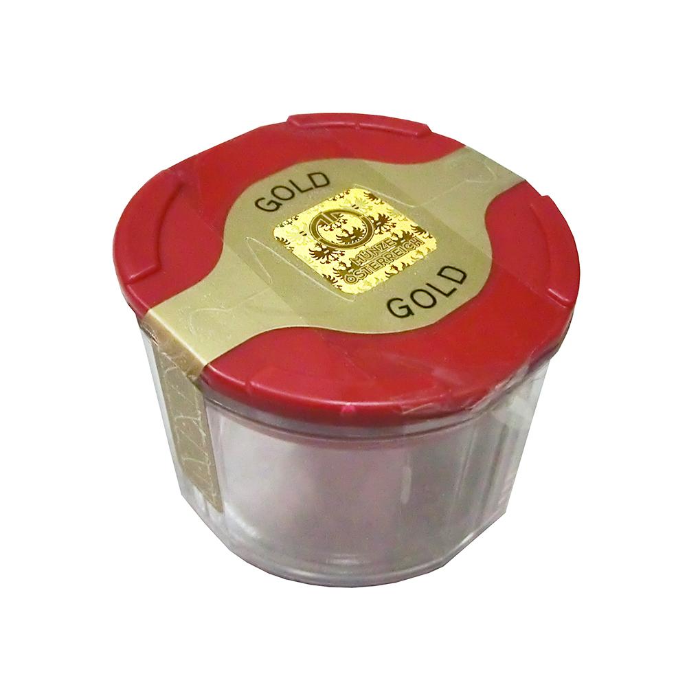 10er Tube für Wiener Philharmoniker Goldmünzen