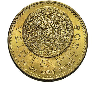mexiko aztekenkalender goldm nze 20 pesos gold f r 573 07 bei leihhaus n rnberg aus. Black Bedroom Furniture Sets. Home Design Ideas