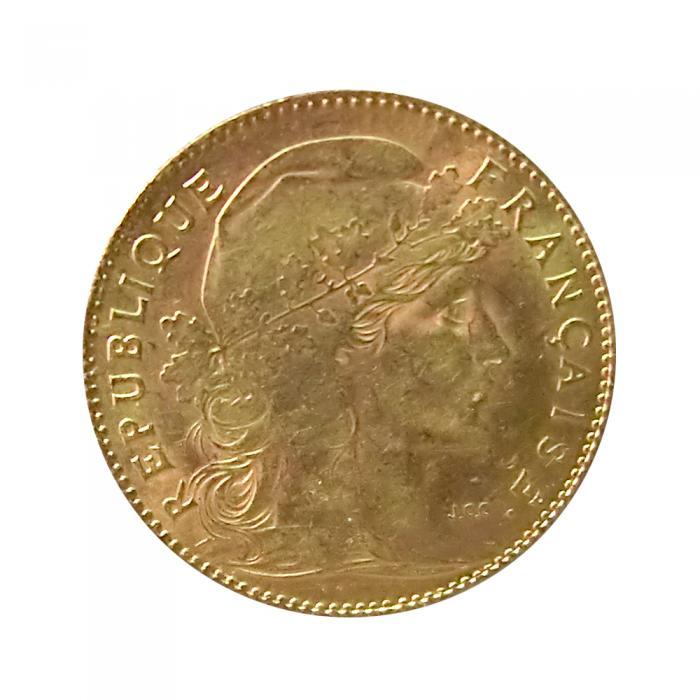 Frankreich Marianne Goldmünze 10 Franc Ankauf Verkauf