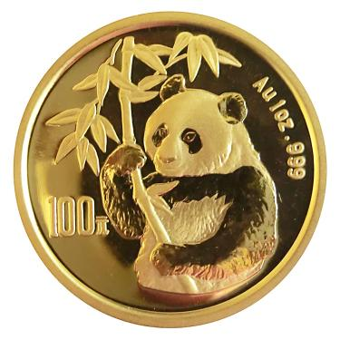 China Panda Goldmünze 1995 - 1 Unze