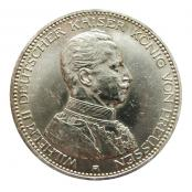 Silbermünze Deutsches Reich 5 Mark Ludwig Iii 1914 D