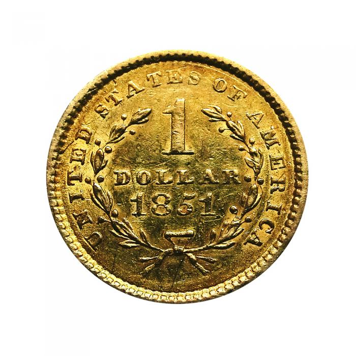 Usa Liberty Frauenkopf Goldmünze 1 Dollar