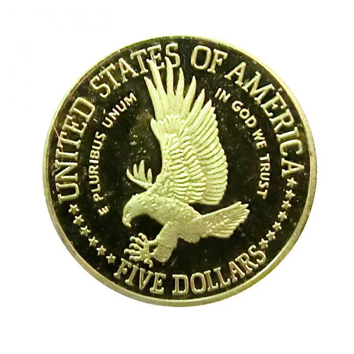 Usa Liberty 100 Jahre Freiheitsstatue Goldmünze 1986