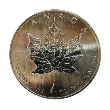 Palladium Münze Maple Leaf - 1 Unze - 50 Dollar