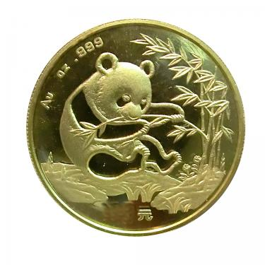 China Panda Goldmünze 1994 - 1/20 Unze