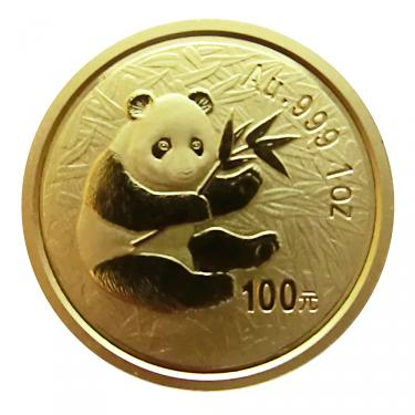 China Panda Goldmünze 2000 - 1 Unze