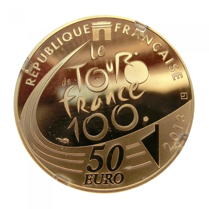 Goldmünze 50 Euro Tour de France 2013 Edition