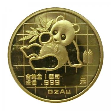 China Panda Goldmünze 1989 - 1/10 Unze