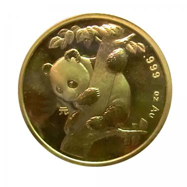 China Panda Goldmünze 1996 - 1/10 Unze