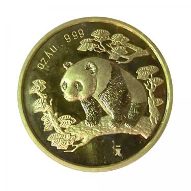 China Panda Goldmünze 1997 - 1/20 Unze