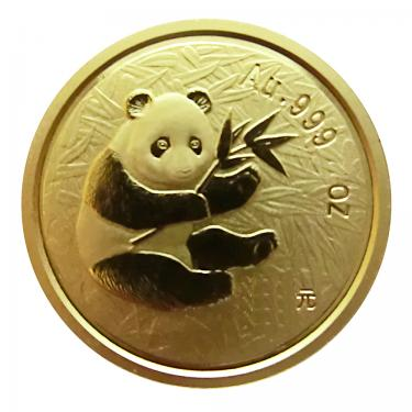 China Panda Goldmünze 2000 - 1/2 Unze