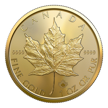 Maple Leaf Goldmünze 2021 - 1/4 Unze