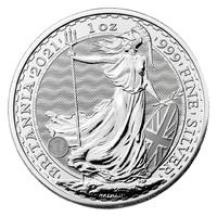 Englische Münzen 2021