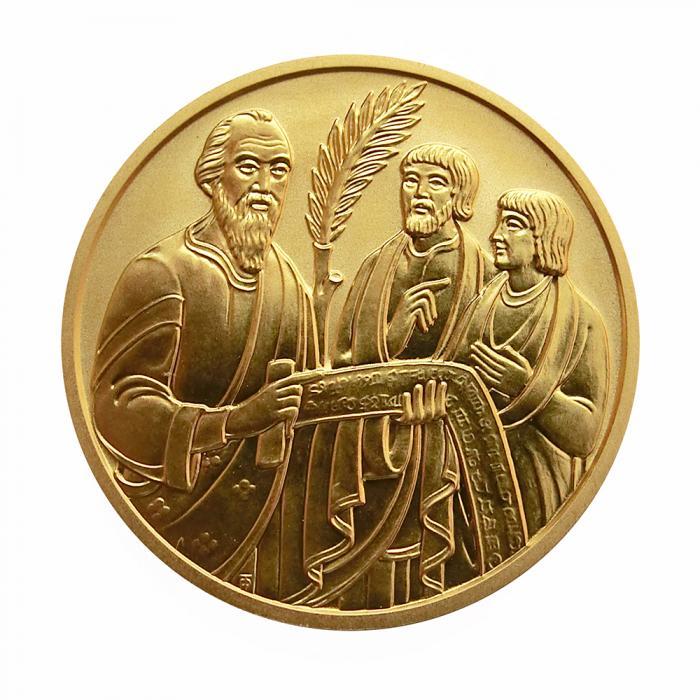 österreich Goldmünze Die Bibel 500 Schilling 2001
