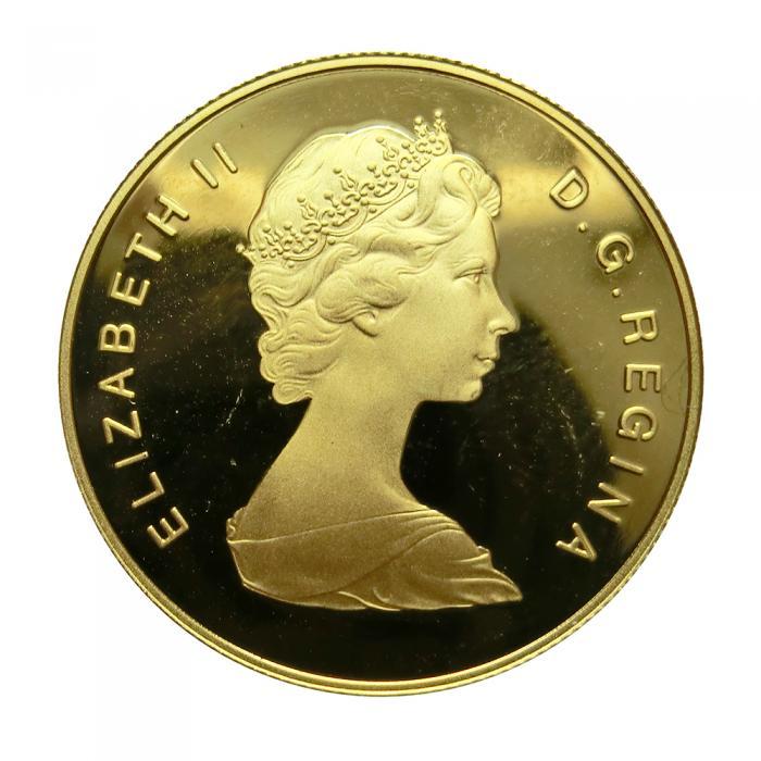 Goldm 252 nze 1 2 unze 100 dollar canada 1979 6 kinder