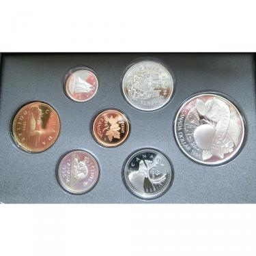 Canada Double Dollar Proof Set 1996