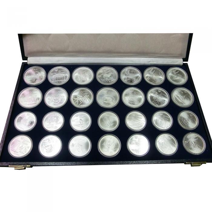 Silbermünzen Olympiade Kanada 1976 Ankauf Verkauf Online