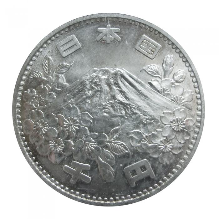 Silbermünze 1000 Yen Japan Olympiade 1964 Kaufen Verkaufen