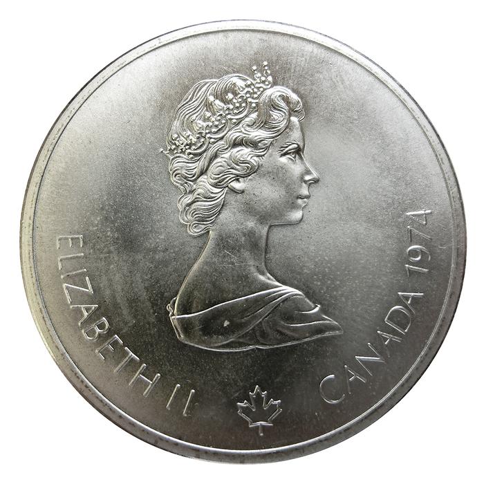 Silbermünze 10 Dollars Canada Olympiade 1976 In Montreal Verschiede