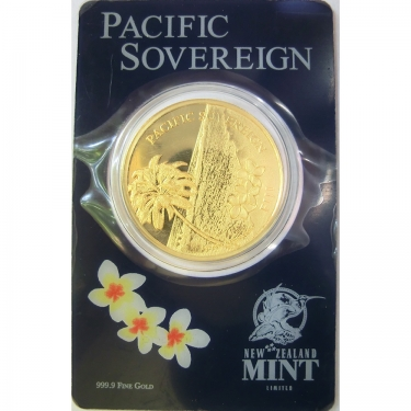 Fiji Pacific Sovereign Goldmünze 2012 - 1 oz geblistert