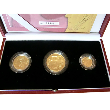 Britannia Goldmünzen 3-Coin-Set 2003 Proof