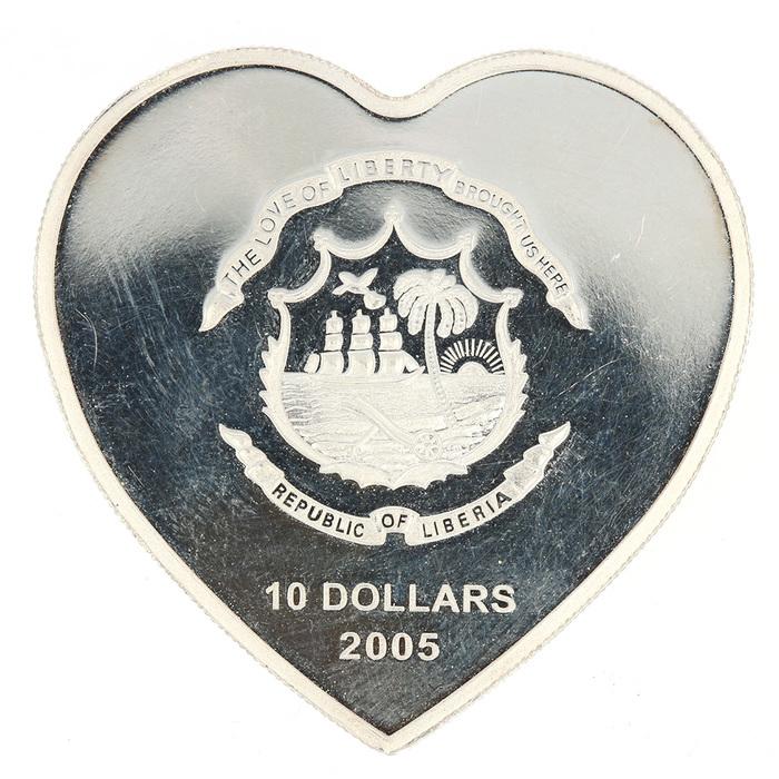 Silbermünze Liberia 10 Dollar Papst Johannes Paulus Ii 1978 2005 Limit