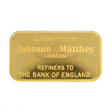 Goldbarren 50 Gramm Johnson Matthey and the Bank of England LBMA