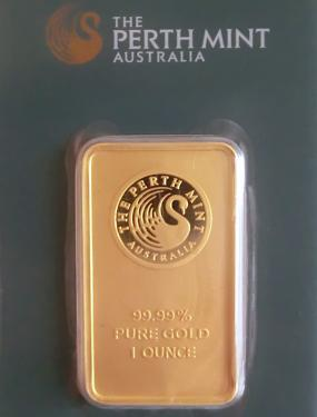 Goldbarren 31,10 Gramm 1 Unze Perth Mint