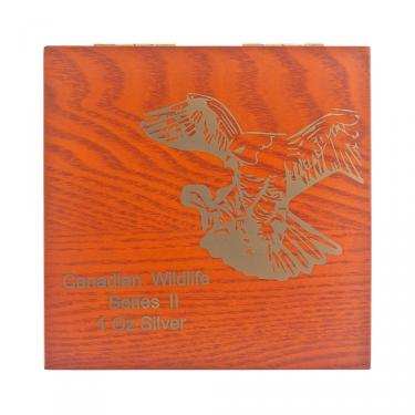 Münzkassette für Canadian Birds of Prey 4 x 1oz
