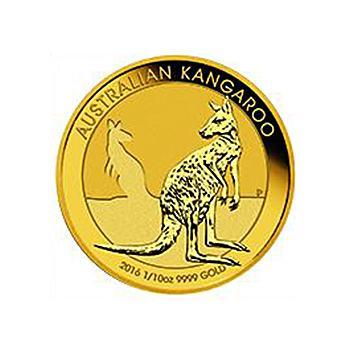 Australische Kangaroo Goldmünze 2016 110 Unze