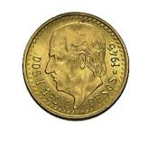 Mexiko 2,5 Pesos Goldm�nze - 1,87 Gramm Gold