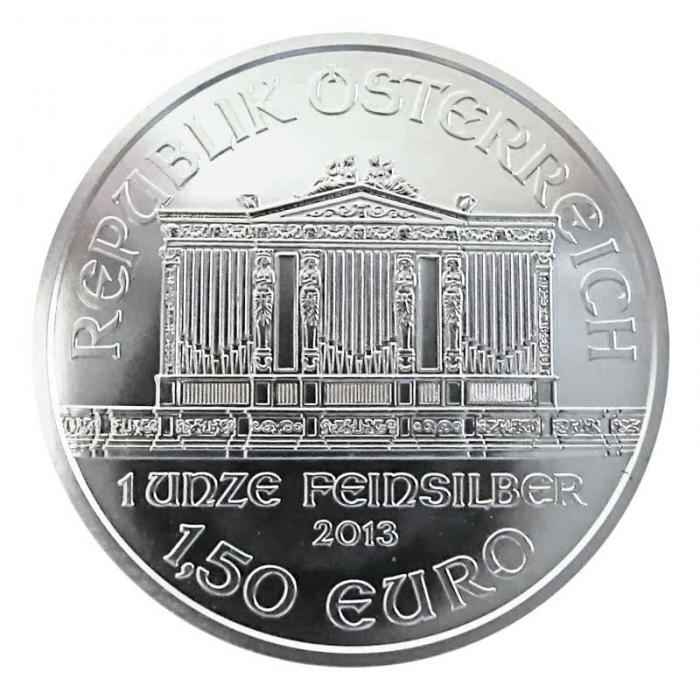 Silbermünze Wiener Philharmoniker 2013 1 Unze Feinsilber