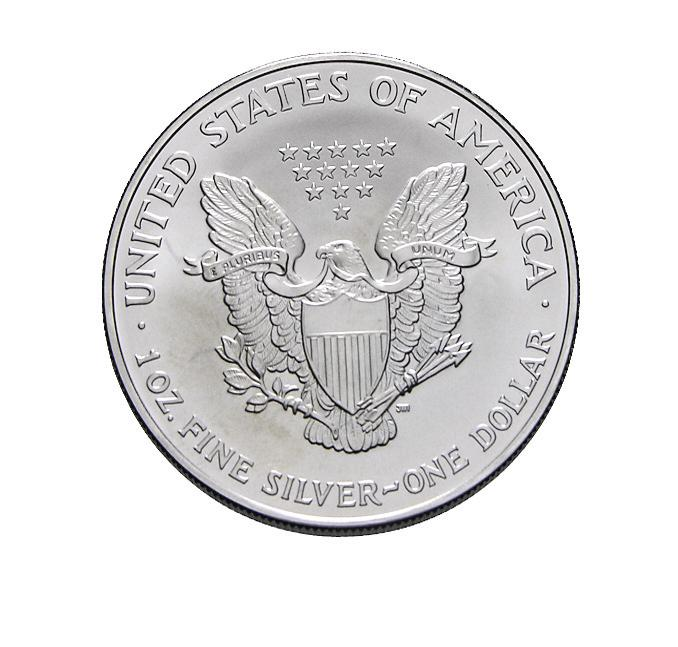 Silbermünze American Eagle 1988 1 Unze 999 Feinsilber
