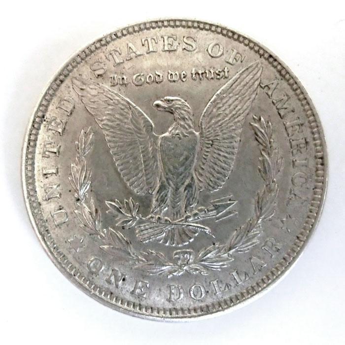 Silbermünze 1 Dollar Morgan Usa Verschiedene Jahrgänge Kaufen Verkauf